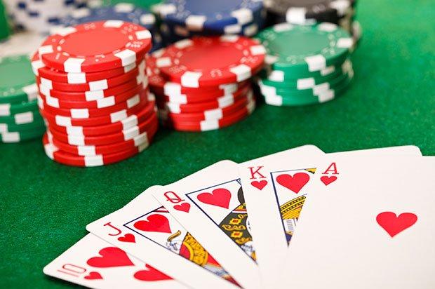 Spill og vinn med kortspillet poker