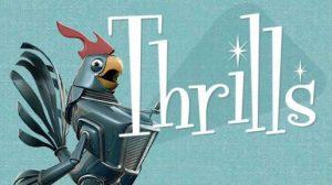 Thrills casino høne logo