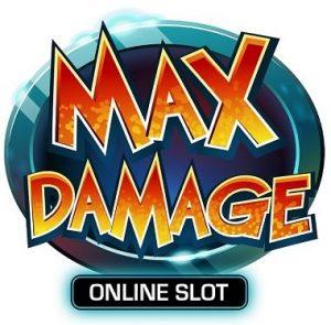 Prøv Max Damage Online slotmachine nå