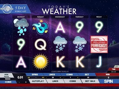 Weather Slotmachine
