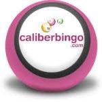 Logoen til nettcasinoet Caliber Bing som blant annet tilbyr bingo på nett.