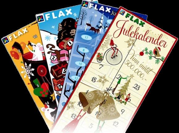 Flax julekalender har flotte motiv