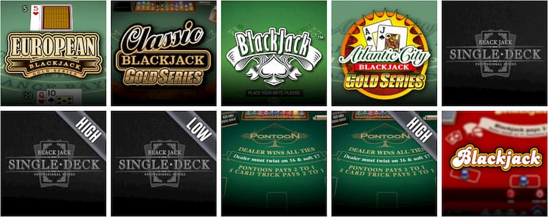 Spill blackjack på 666 Casino