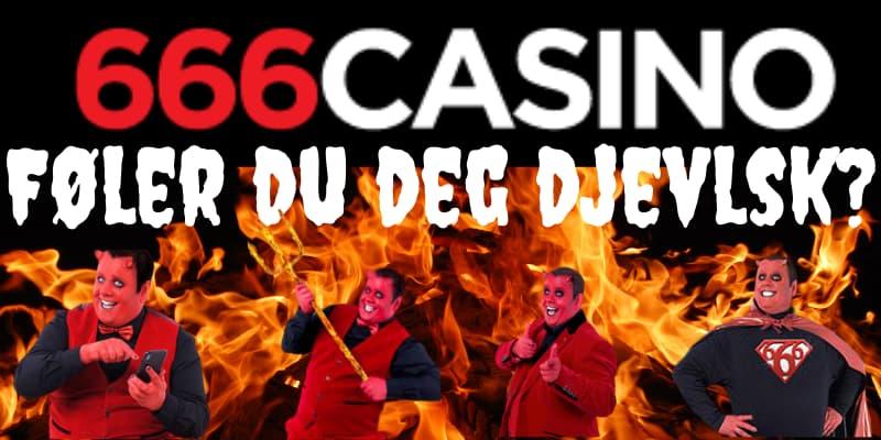 666 casino folere du deg djevlsk