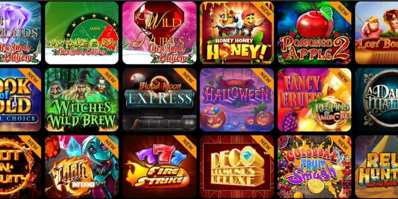 Spill på spilleautomater på nett hos Spin Million Casino